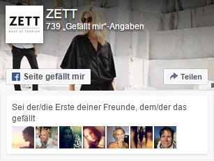 Facebook ZETT